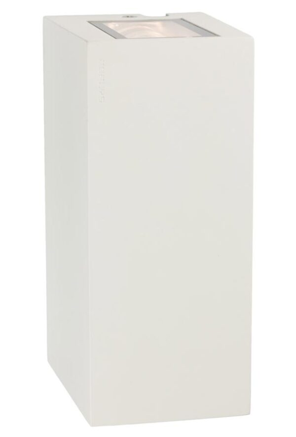 Norlys LILLEHAMMER W 6w LED up / down outdoor wall light in white IP54