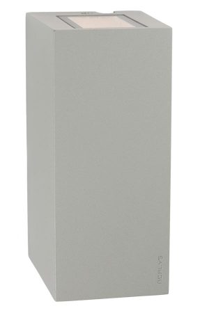 Norlys Lillehammer 6w LED Up & Down Outdoor Wall Light Alu IP54