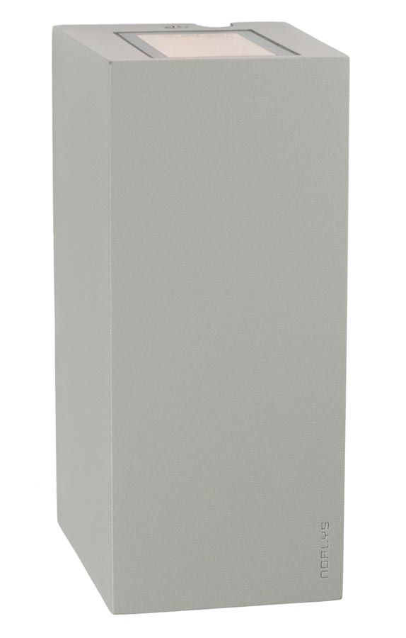 Norlys LILLEHAMMER AL 6w LED up / down outdoor wall light in aluminium IP54