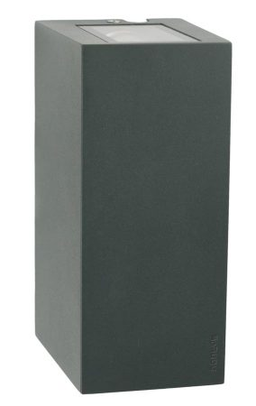 Norlys Lillehammer 6w LED Up & Down Outdoor Wall Light Graphite IP54