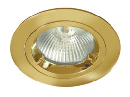 Polished Brass Low Voltage Cast Downlight