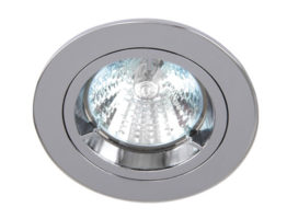 Polished Chrome Low Voltage Cast Downlight