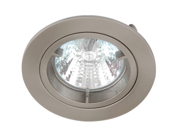 Brushed Chrome Low Voltage Cast Downlight