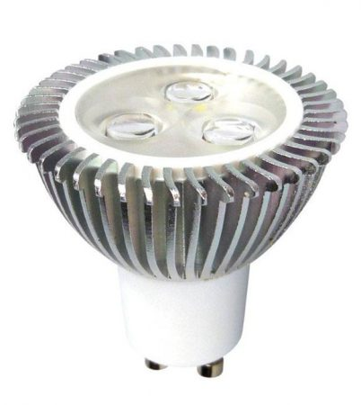 Warm White Dimmable GU10 Ultra LED Lamp 310 Lumen