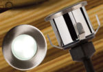 Decking or Bathroom Mains White LED Recessed Light