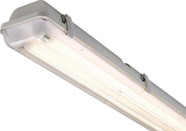 Ultra-Slim 4ft Non Corrosive 2 x 28w Twin T5 Garage Fluorescent IP65
