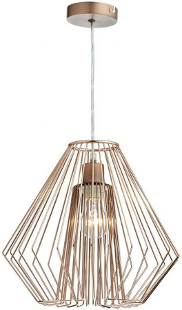 Dar Needle Modern Easy Fit Ceiling Pendant Shade Copper