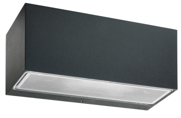 Norlys Asker Large Up & Down Outdoor Wall Light Graphite IP54