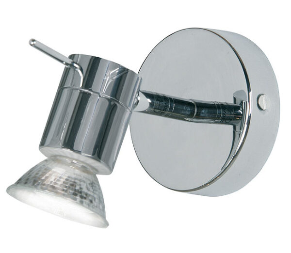 Cara Chrome IP44 Bathroom Wall Spotlight
