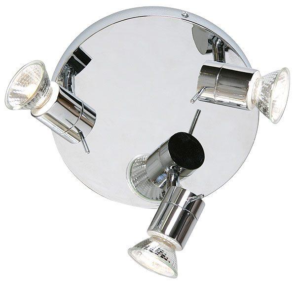 Cara Bathroom 3 Light Chrome Ceiling Spotlight Fitting