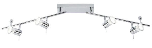 Cara Bathroom Spotlight Chrome 4 Light