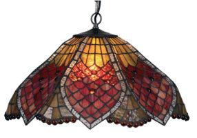 Medium Sensual Orsino Tiffany Pendant Light