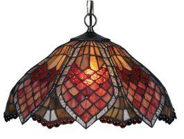 Large Sensual Orsino Tiffany Pendant Light