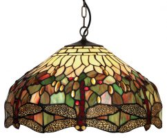 Dragonfly 500mm Tiffany Pendant Light