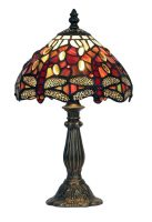 Small Dragonfly 180mm Tiffany Table Lamp