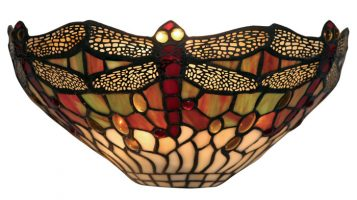 Dragonfly 310mm Tiffany Wall Light