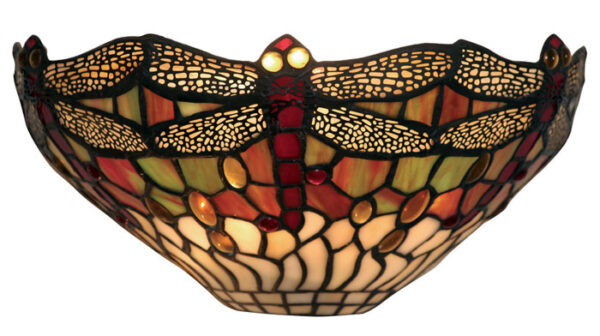 Dragonfly 310mm Tiffany Wall Light