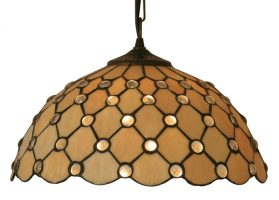 Jewel Handmade 350mm Tiffany Pendant Light