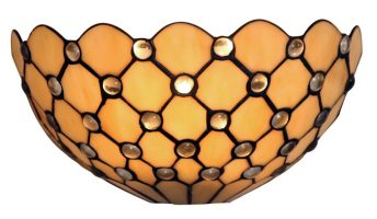 Jewel Handmade 320mm Tiffany Wall Light