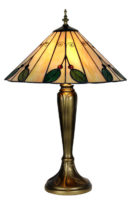 Large 420mm Leaf Tiffany Table Lamp