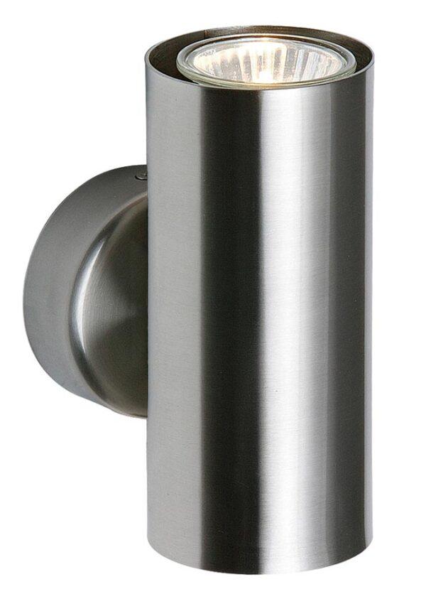 Odi 2 light up & down wall washer spot light satin nickel