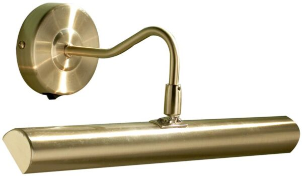 Dar Onedin Traditional 37cm Switched Picture Light Satin Brass