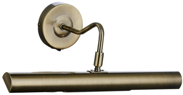Dar Onedin Traditional 37cm Switched Picture Light Antique Brass