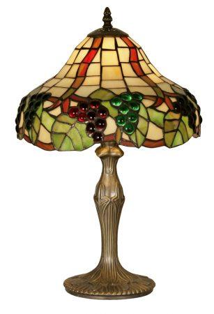 Medium Grape Vine Tiffany Table Lamp