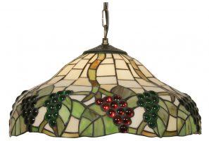 Grape Vine Tiffany Ceiling Light