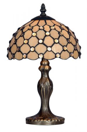 Jewel 200mm Tiffany Table Lamp
