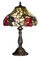Peonies 300mm Tiffany Table Lamp