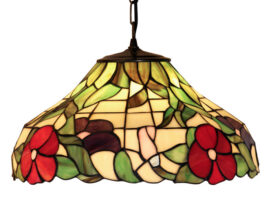 Peonies 400mm Tiffany Pendant Light