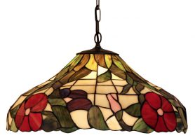 Peonies 500mm Tiffany Pendant Light