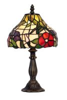 Peonies 200mm Tiffany Table Lamp