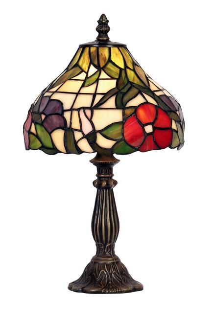 Peonies 200mm Tiffany Table Lamp