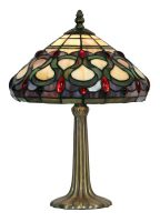 Oberon 250mm Tiffany Table Lamp