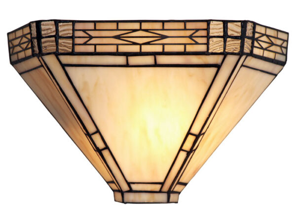 Ophelia Art Deco Tiffany Wall Light