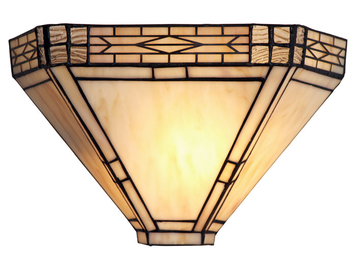 Ophelia Art Deco Tiffany Wall Light OT 1849 WB