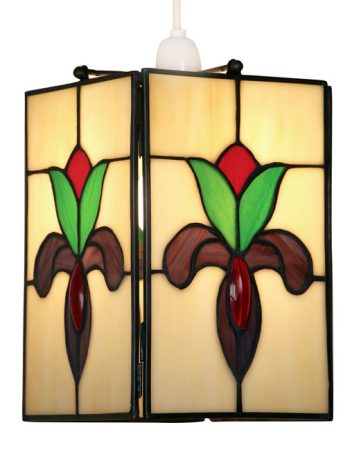 Crown Easy Fit Non Electric Tiffany Pendant Shade
