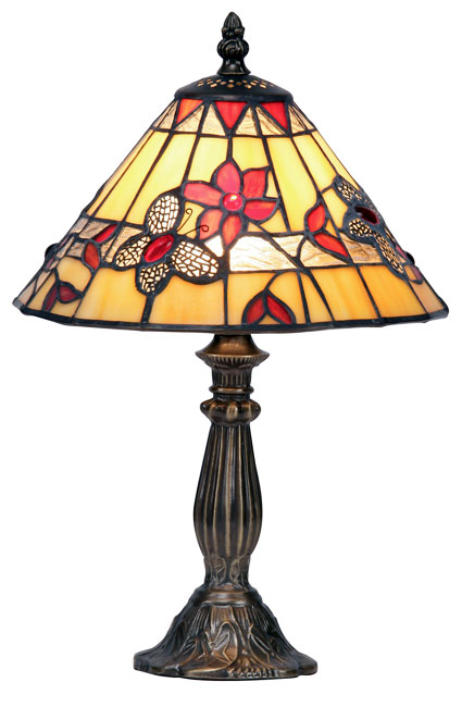 Butterfly 240mm Tiffany Table Lamp