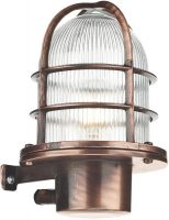 David Hunt Pier Antique Copper Nautical Outdoor Wall Lantern