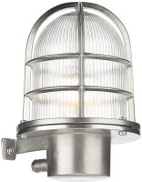 David Hunt Pier Antique Nickel Nautical Outdoor Wall Lantern