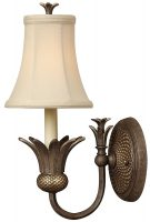 Hinkley Plantation Designer Pineapple Wall Light Pearl Bronze