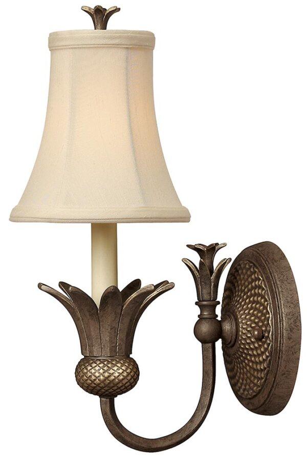 Hinkley Plantation Designer Pineapple Wall Light Pearl Bronze