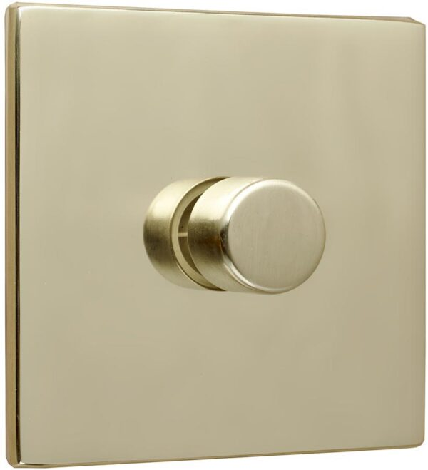 Fantasia Polished Brass Rotary Fan Speed Controller Switch