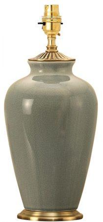 Ryhall Small Duck Egg Ceramic Vase Table Lamp Base