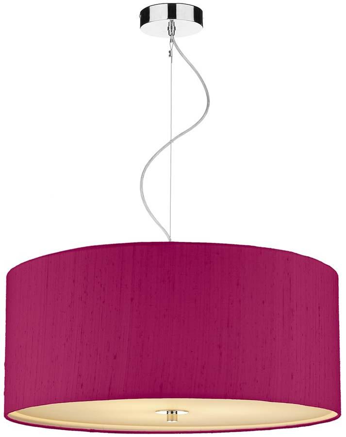 Dar renoir 3 light 60cm silk drum pendant various colours ren1760cm dar renoir 3 light 60cm silk drum pendant various colours aloadofball Gallery