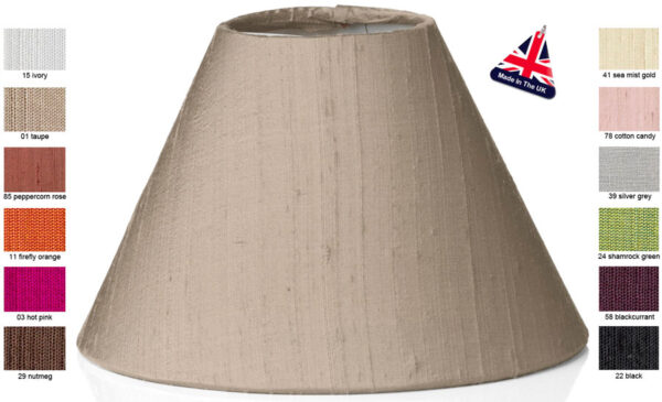 David Hunt Rohan Candle Lampshade Choice of 12 Colours