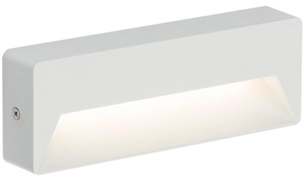 Surface Mounted 5w LED Letterbox Outdoor Guide Light White IP54
