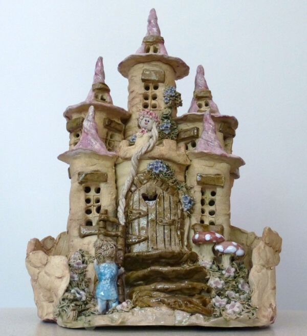 Rapunzel Exclusive Handmade Magical Castle Child's Bedroom Night Light